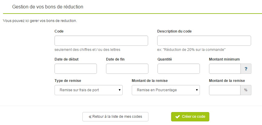 Codes coupons de reduction airbnb