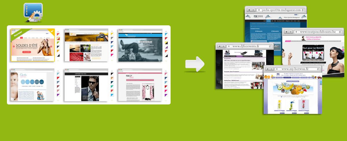 Préférence Créer un site internet, création site web gratuit et facile - CmonSite JJ41