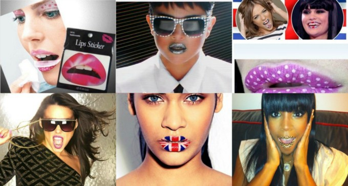 lip tattoos IDEALIK