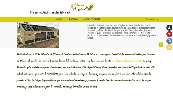 Plumes et Jardins France