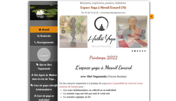 Site de vincenbonidan : CmonSite