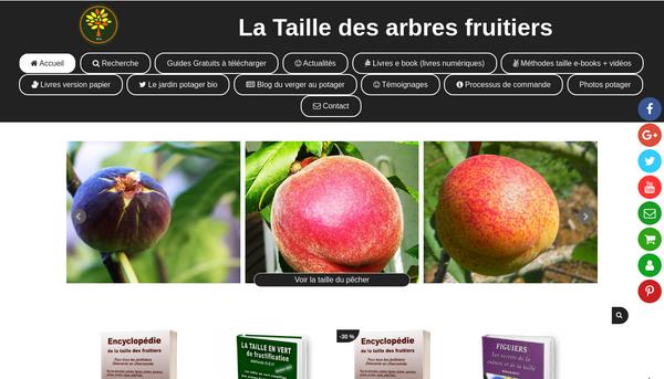 Site de latailledesarbresfruitiers : CmonSite