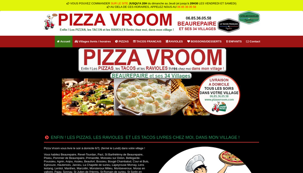 Site de pizzavroom