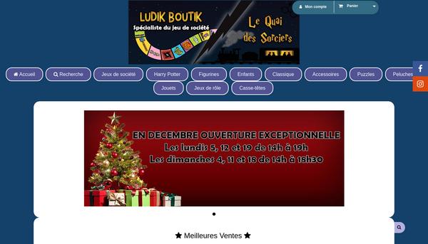 Site de ludikboutik-jeudesociete : CmonSite