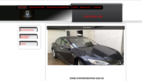 Site de taxi-tesla-92.fr