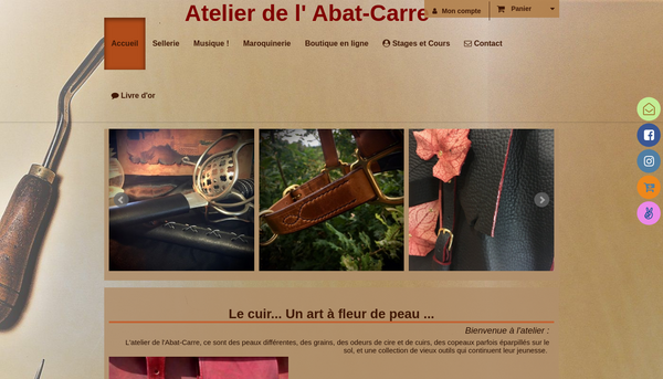 L'atelier de l'Abat-Carre , sellerie maroquinerie