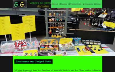 Site de gadgetgeek : CmonSite