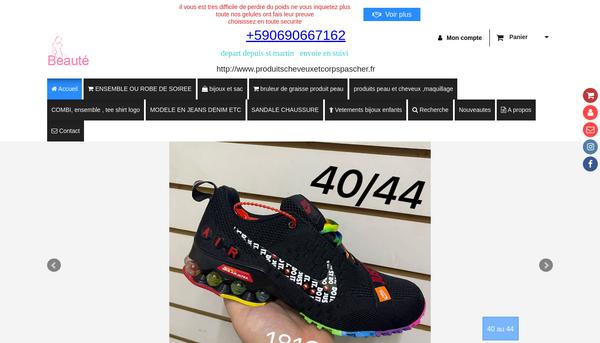 Site de www-produitscheveuxetcorps-com