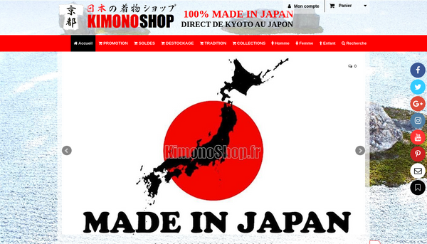 Boutique 100% Kimono