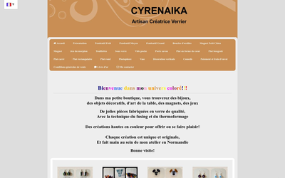 Site de Cyrenaika crée grâce à Cmonsite