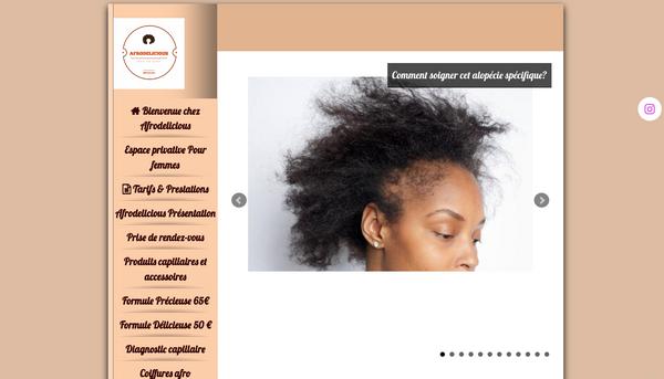 Salon de coiffure pour cheveux crépus,frisés,bouclés