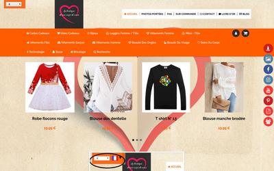 Site de boutiquedemescoupsdecoeur : CmonSite