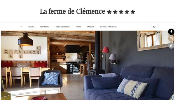 Gite-villard-de-lans.fr la ferme de clémence