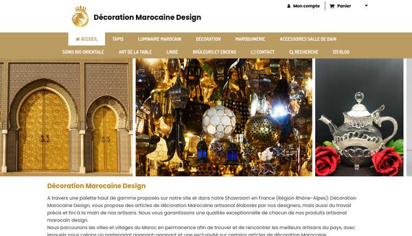 Décoration-marocaine-artisanat