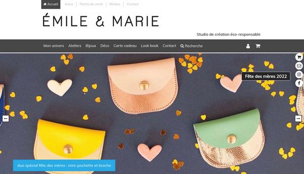 Emile et Marie - Studio de création éco-responsable