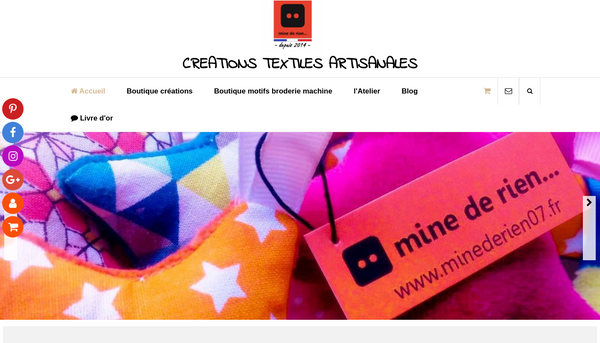 Créations textiles artisanales en Ardèche