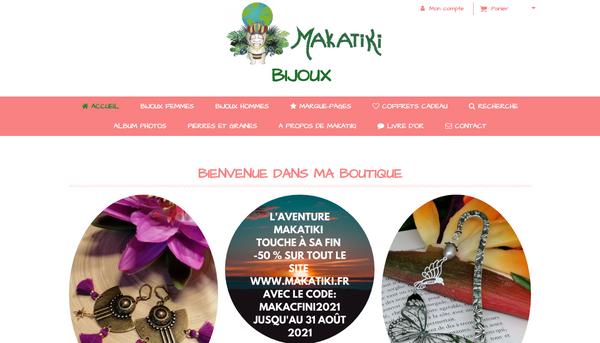 Site de makatiki : CmonSite