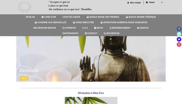 Site de titaniacristal : CmonSite