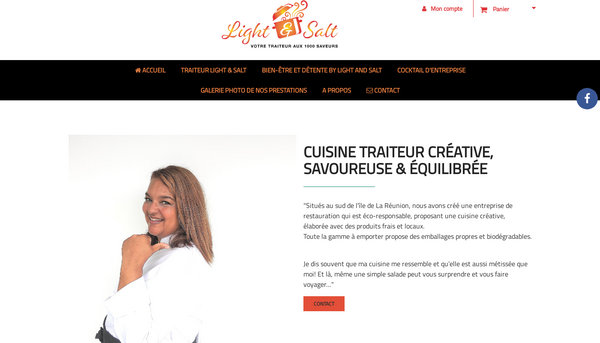 Site de lightandsalt : CmonSite