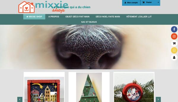 Mixxieshop  Une boutique qui a du chien