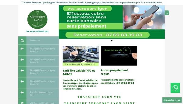 VTC Aéroport Lyon Saint-Exupéry