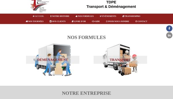 Transport Déménagement TDPE