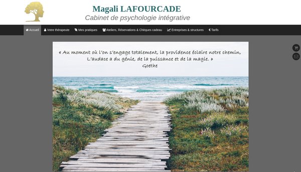 Site de magalilafourcade-psychologieintégrative : CmonSite