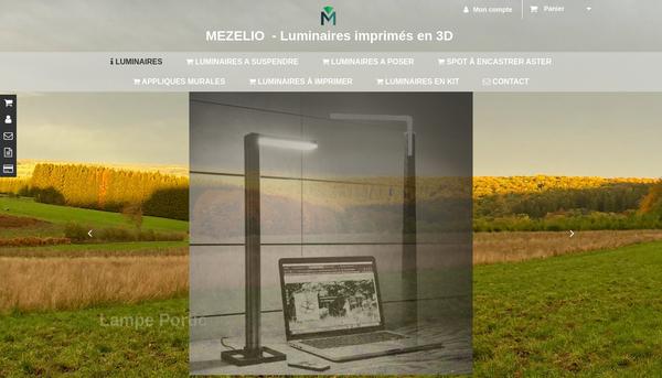 MEZELIO - Luminaires imprimés en 3D