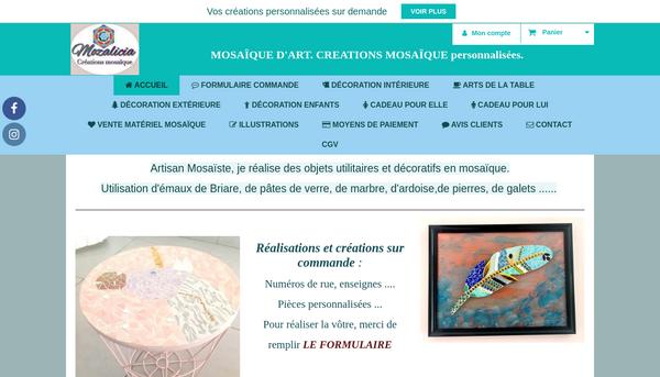 Site de mozalicia : CmonSite