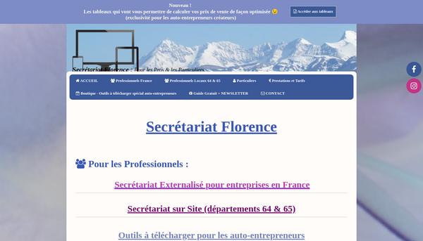 Site de secretariatflorence-388267 : CmonSite