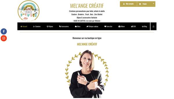 Mel'Ange Créatif : artisan créateur bijoux et zéro déchet