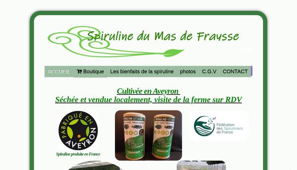 Site de spiruline-alriquet : CmonSite