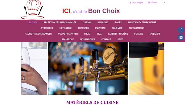 Ici, C'est le Bon Choix - www.chr-restauration-pro.fr