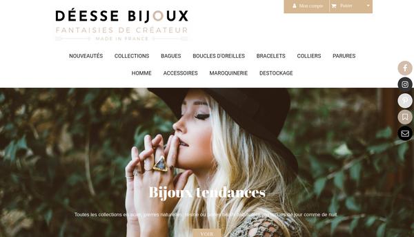 DéeSse Bijoux : Bijoux fantaisie et accessoires fait main en France