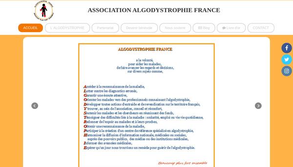 Site de algodystrophie-france : CmonSite