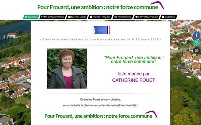Pour Frouard, une ambition : notre force commune.