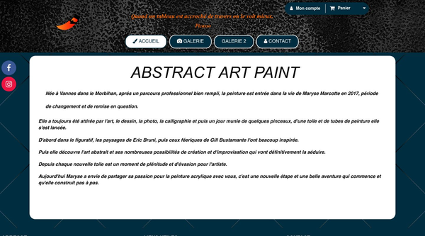 ABSTRACT ART PAINT