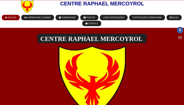 Site de Centre Raphael Mercoyrol : CmonSite
