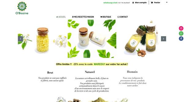 Site de obiozine : CmonSite