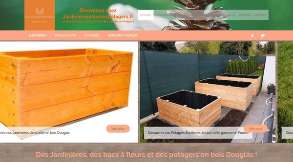 Site de Jardinieresetcarrespotagers.fr : CmonSite