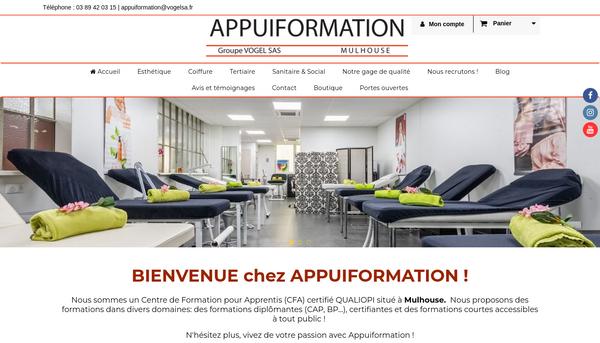 Site de appuiformation : CmonSite