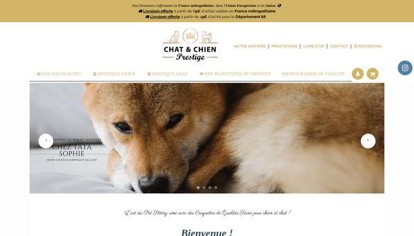 Site de Chatchienprestige : CmonSite