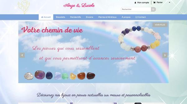 Site de ange-et-luciole : CmonSite