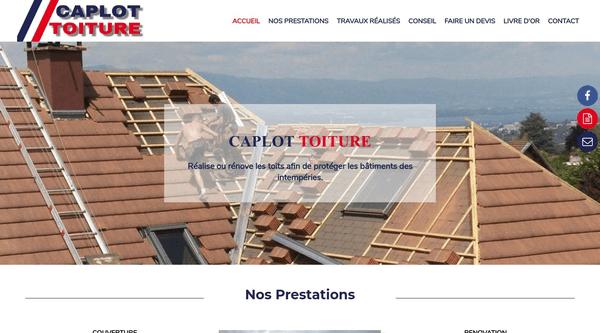 Site de Caplot-toiture