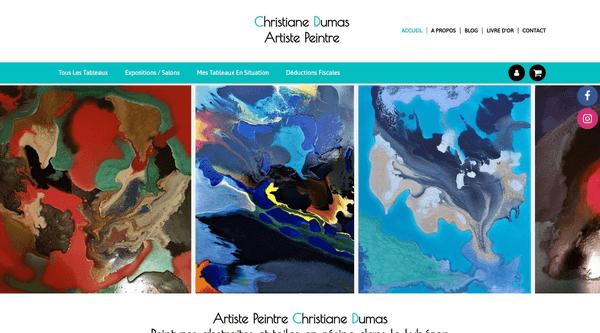 Site de cris-artiste-abstrait : CmonSite