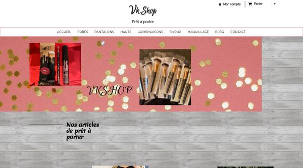Site de vkshop : CmonSite