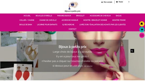 Site de Nadegeneige : CmonSite
