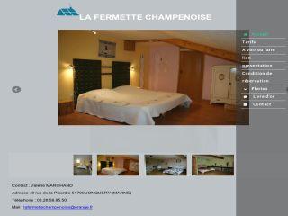 La Fermette Champenoise : Chambres d'hôtes