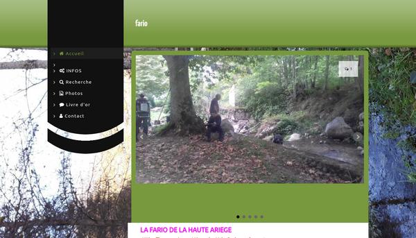 Site de LA FARIO DE LA HAUTE ARIEGE