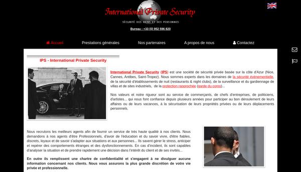 Société de sécurité privée à Cannes, Côte d'Azur